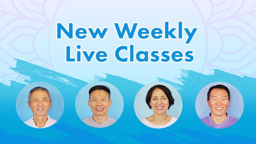 4 New Weekly Live Classes Added